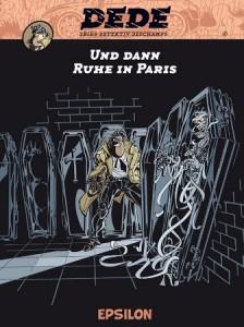 """Coverillustration von Erik: """"Dédé. Und dann Ruhe im Paris"""", Epsilon 2014"""