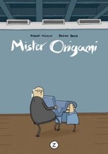 Cover von Robert Mühlich/Bastian Baier, Mister Origami, Zwerchfell Verlag 2014, (C) Zwerchfell Verlag