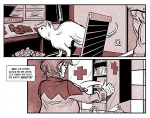 Ausschnitt aus TeMeLs Webcomic