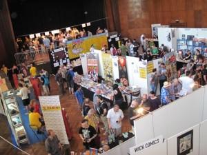 Getümmel auf dem Comicfestival München