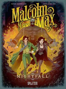 Cover von Malcom Max, Band 3, Splitter Verlag