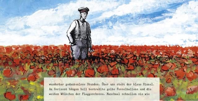 Ausschnitt aus Im Westen nichts Neues, Splitter Verlag