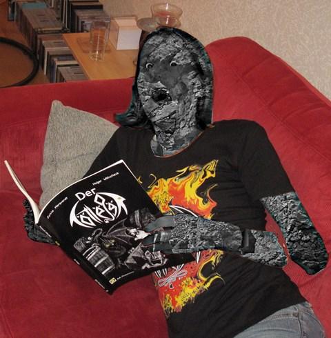 Vorsicht vor Verwechslungen: Das Nager-T-Shirt schützt, nicht das Tötlëgër-T-Shirt!