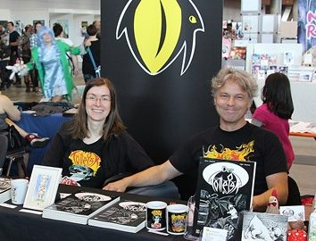 Foto vom Stand auf der Comic Con Stuttgart